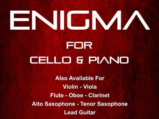 Enigma - Cello & Piano (Score & Parts)