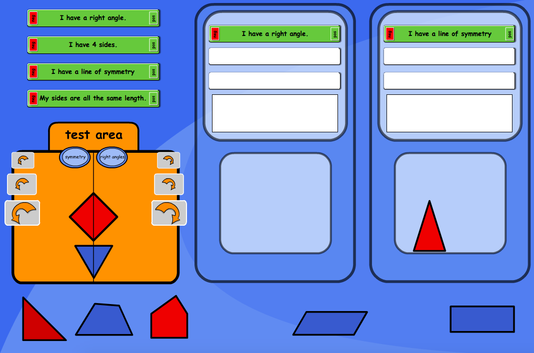 Compare Shapes Interactive Activity - KS1 Geometry