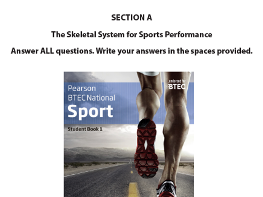 BTEC SPORT - SKELETAL TEST