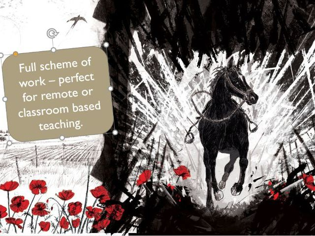 War Horse (ideal for remote/normal lessons)