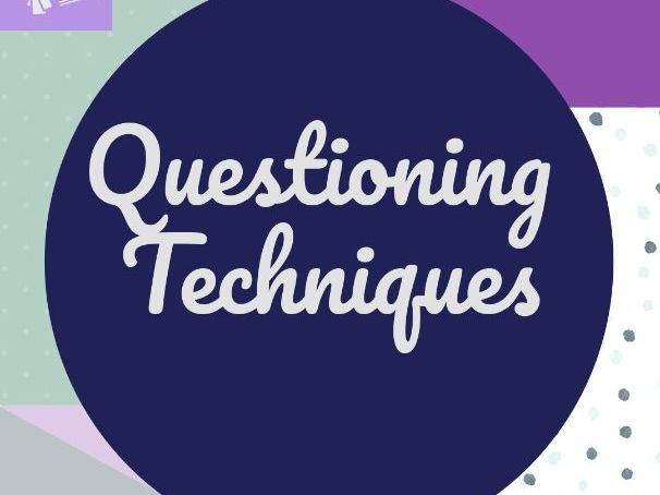 Questioning Techniques CPD