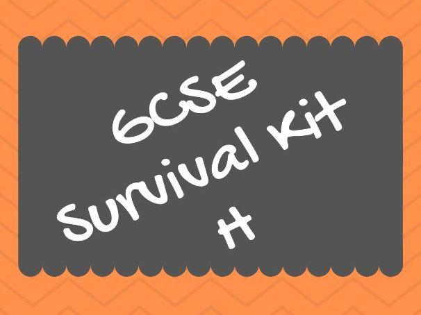 SURVIVAL KIT GCSE  (HIGHER!)