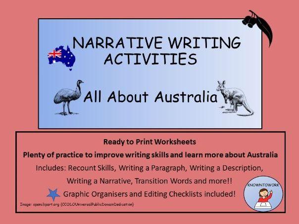 NarrativeWriting-AustralianTheme-PerfectforHomeLearning