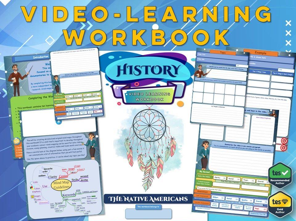 Native Americans - KS3 History - Workbook [Video-Learning Workbook] Indigenous People