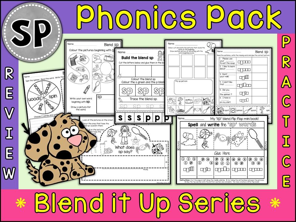 Phonics: Phonics Blend SP