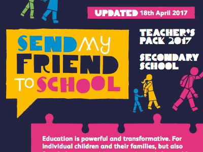 Send My Friend to School - Primary Teachers' Pack 2017