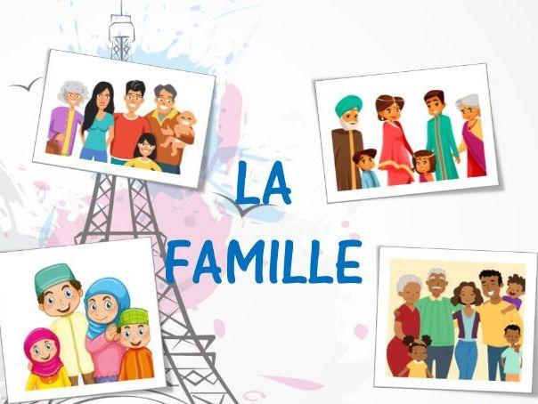 La famille /vocabulary on members of family/determinants possessifs