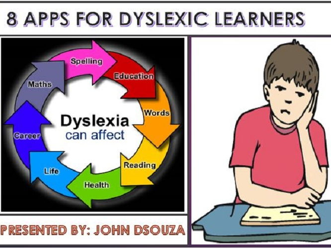 8 APPS FOR DYSLEXIC LEARNERS: PRESENTATION