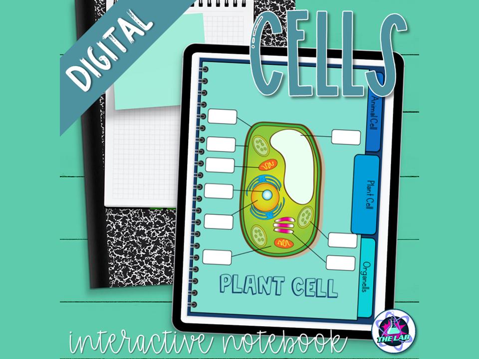 Cells Digital Interactive Notebook