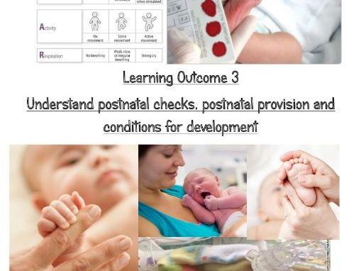 RO18 LO3 work book- ocr cambridge nationals child development