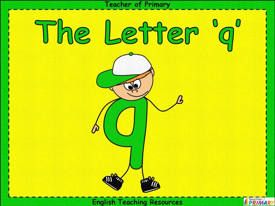 The Letter 'q'