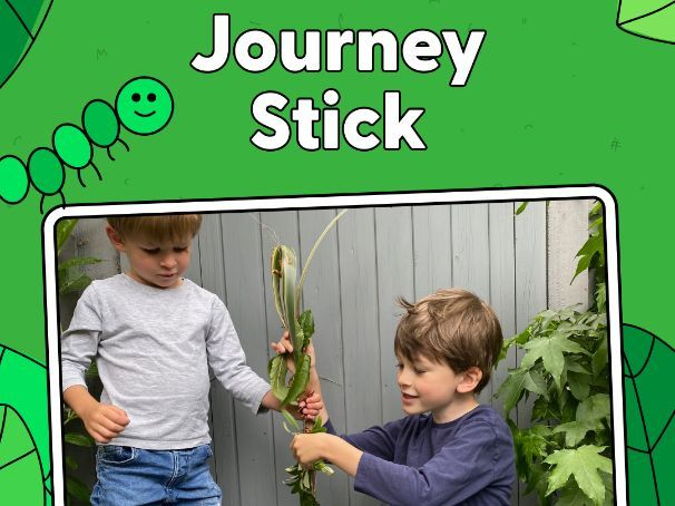 Activity - Make a Journey Stick