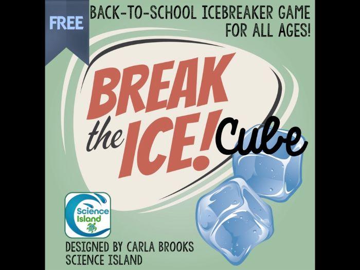 """Break the Ice"" Cube Game"