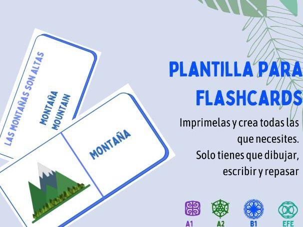Crea tus propias flashcards