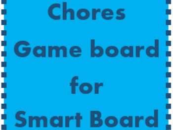 Chores Game board for Smartboard