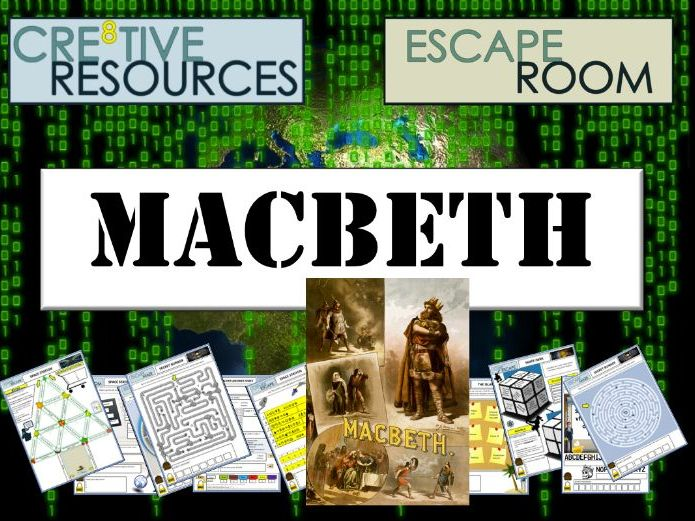 Macbeth Escape Room - End of Year