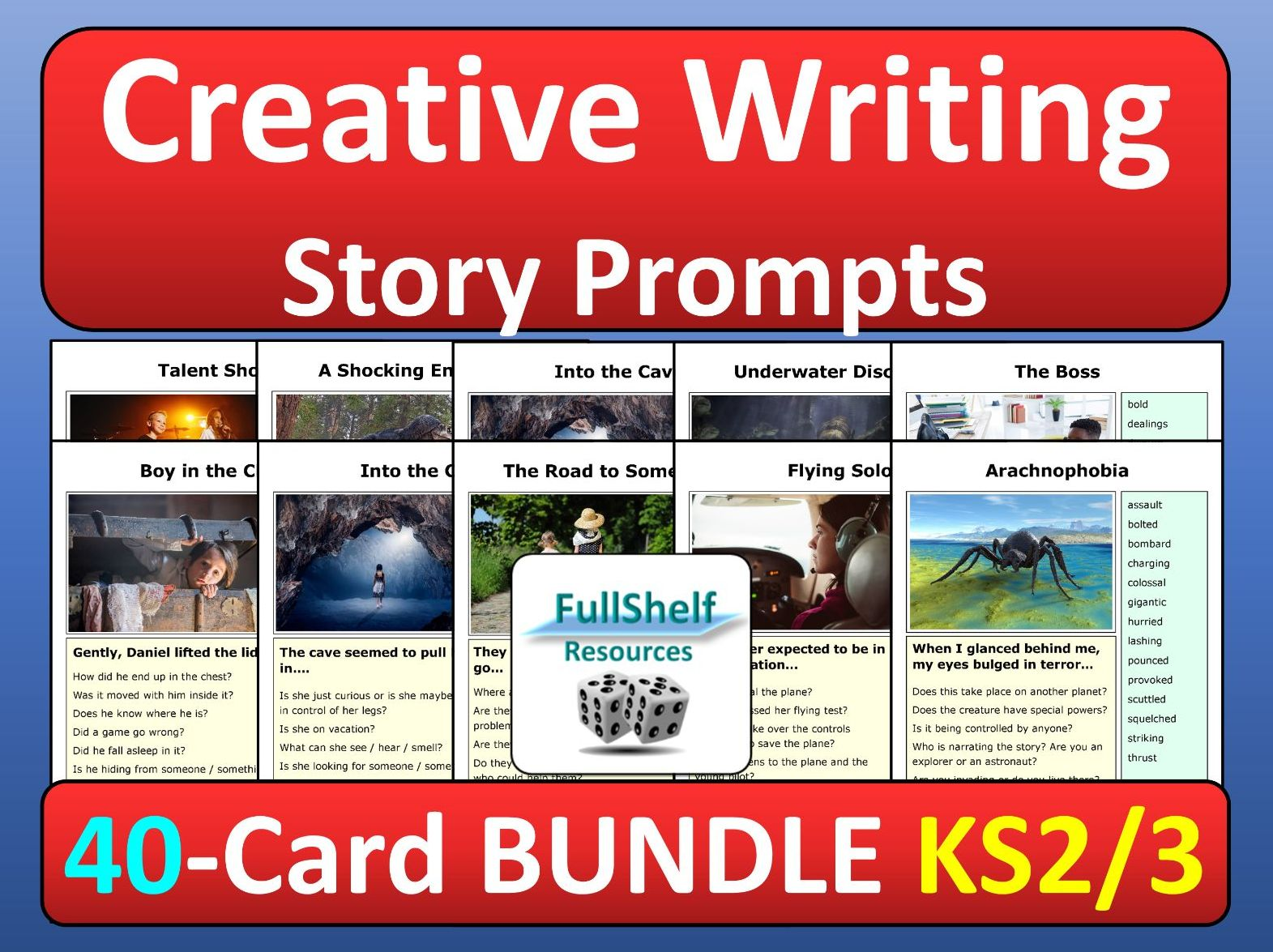 Creative Writing Story Prompts Photo Starters BUNDLE