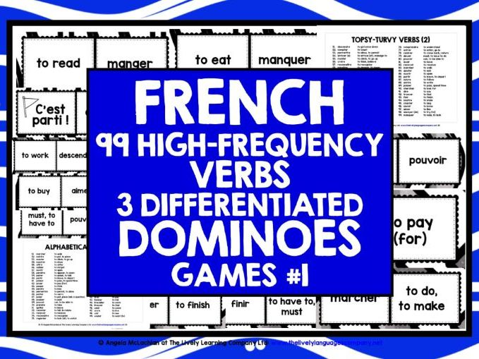 FRENCH VERBS DOMINOES 1
