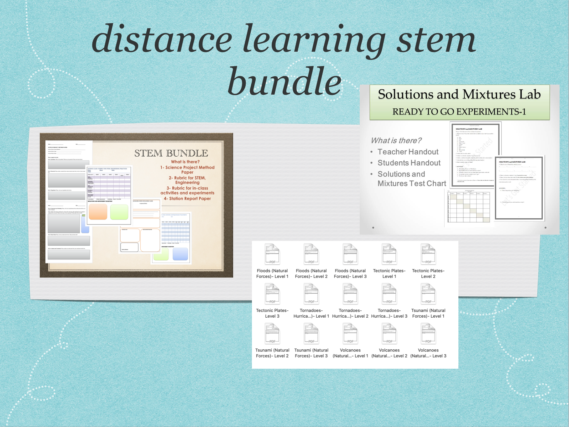 Distance Learning Science Resources