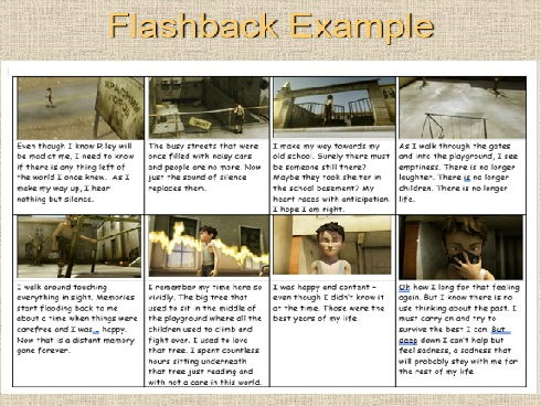English Narratives - Flashbacks Linked to Replay short film
