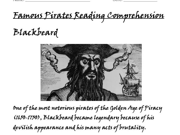 Pirates Bundle Years 2/3/4