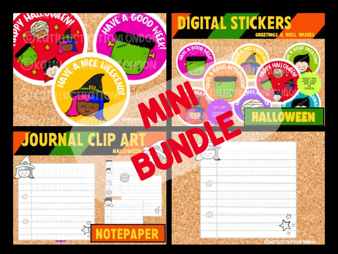 Mini Halloween Bundle Digital Resources For Teachers