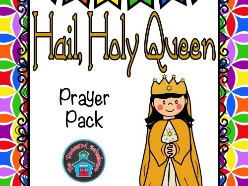 Hail, Holy Queen Prayer Pack