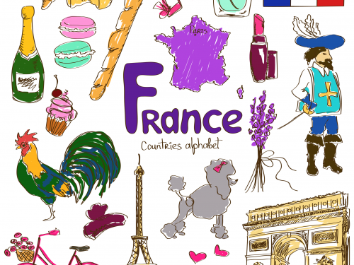 Primary French Day with sport, cookery, art and Paris architecture, KS1 KS2