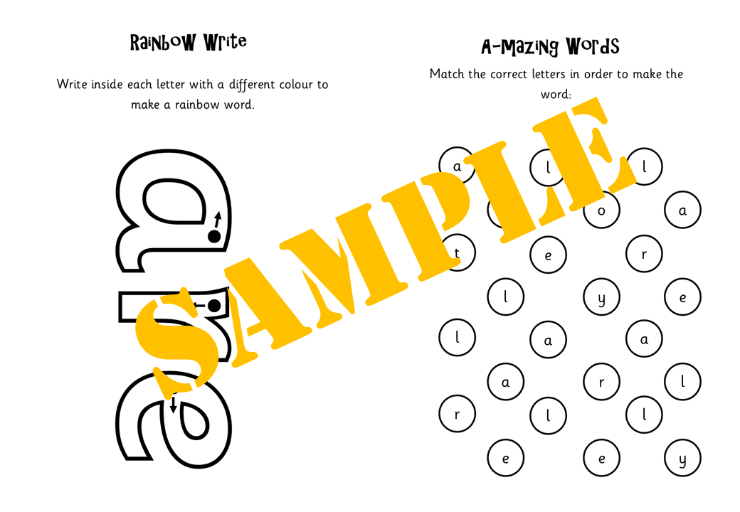 Tricky Word Books for Phases 2-5
