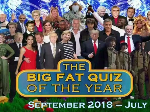 Big Fat Quiz of the Year 2019