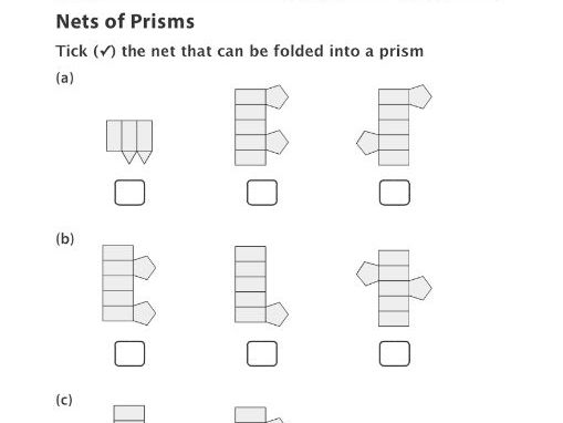 Nets of Prisms