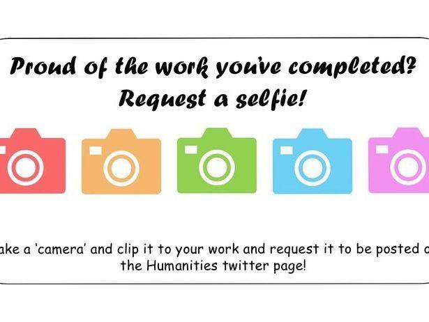Selfie your work!