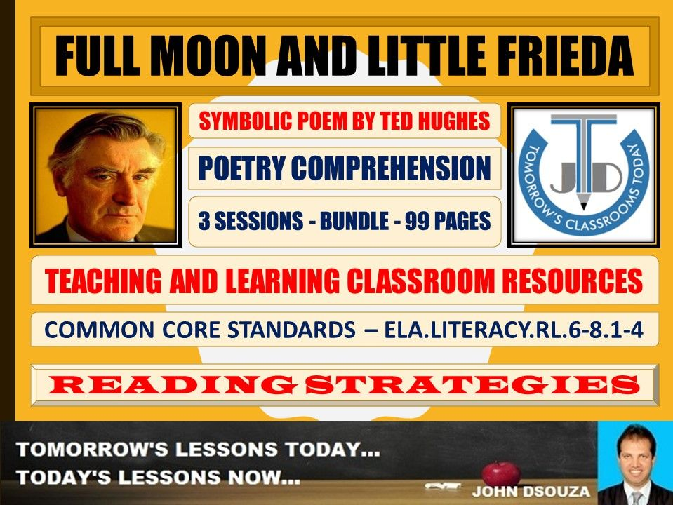 FULL MOON AND LITTLE FRIEDA - CLASSROOM RESOURCES - BUNDLE