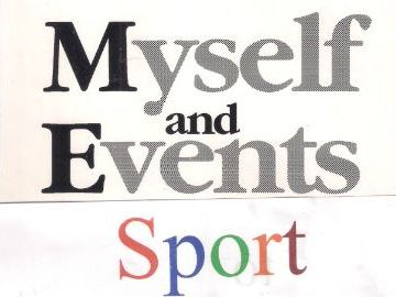 Myself and Events SPORT