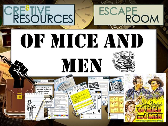 Of Mice and Men Escape Room - End of Year