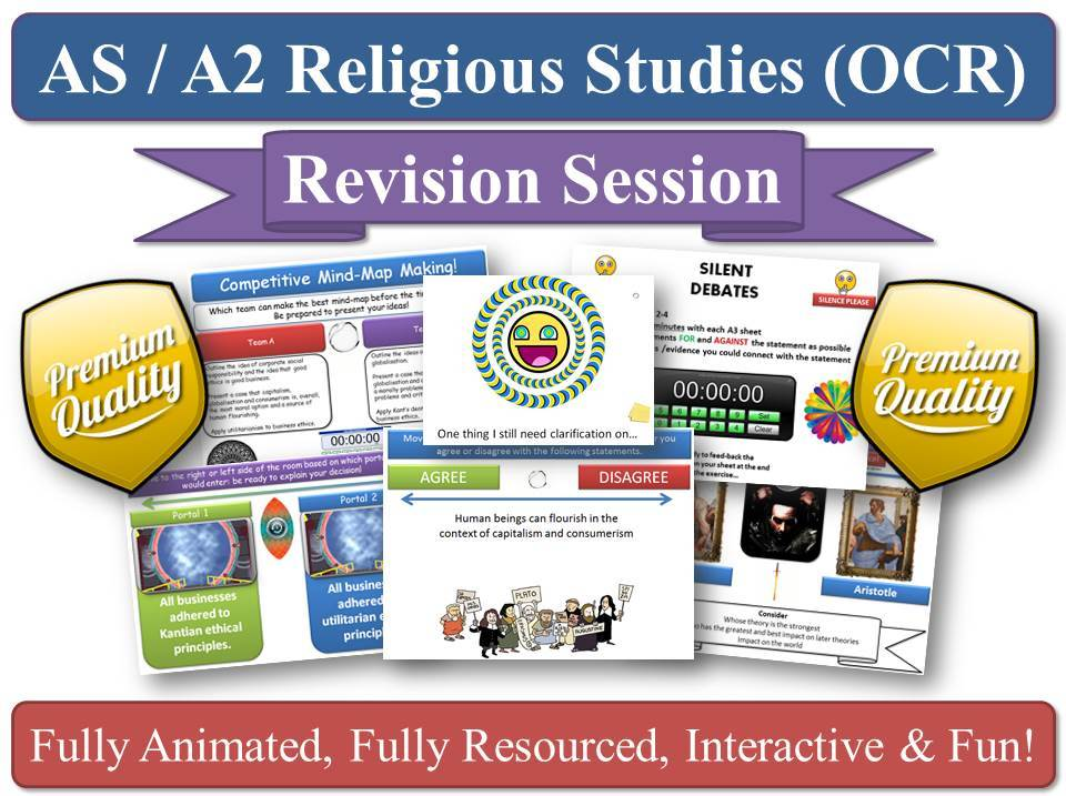 Business Ethics (Religious Studies) Revision Session for AS-Level OCR RS (New Spec) [religion,moral]