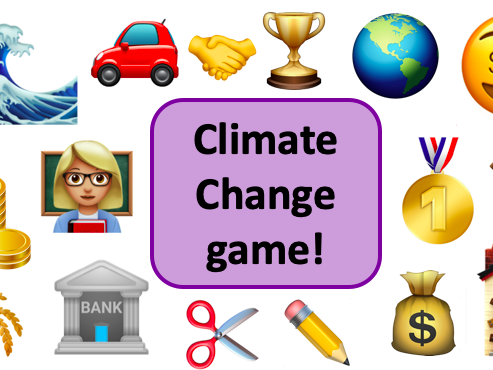 Climate Change Game KS3 Geography