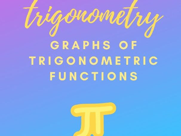 Graphs of trigonometric functions summary.