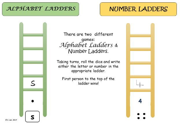 Literacy & Numeracy Ladder Games
