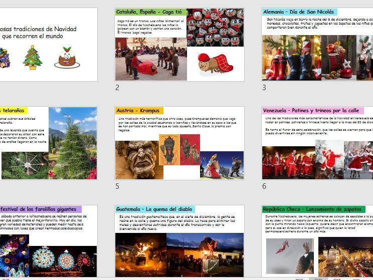 KS4 Navidad en otros países del mundo