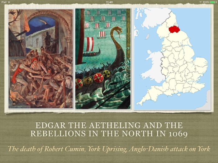 GCSE History Edgar Aetheling and the rebellions in the North in 1069