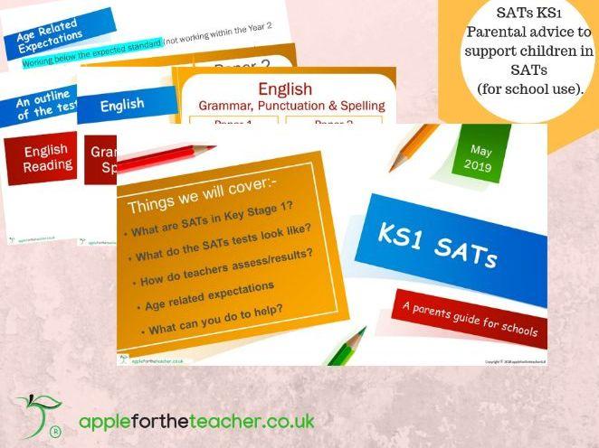 KS1 SATs powerpoint presentation advice for parents 2019