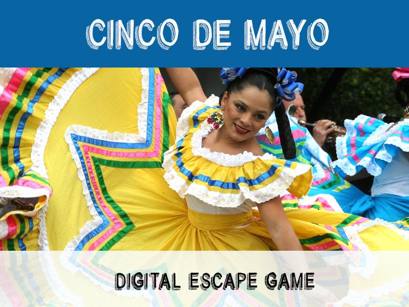 Digital Escape Game - Cinco de Mayo