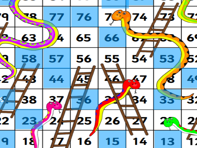 Snakes and Ladders DT revision