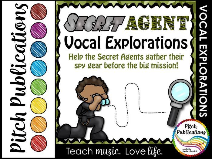 Vocal Explorations - Secret Agent - Create + Compose Your Own