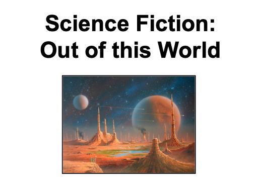 Science Fiction Writing - KS3