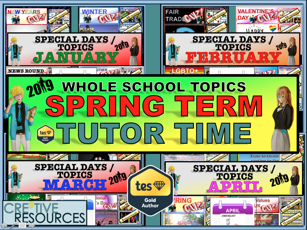 Tutor Time - Spring Term 2019