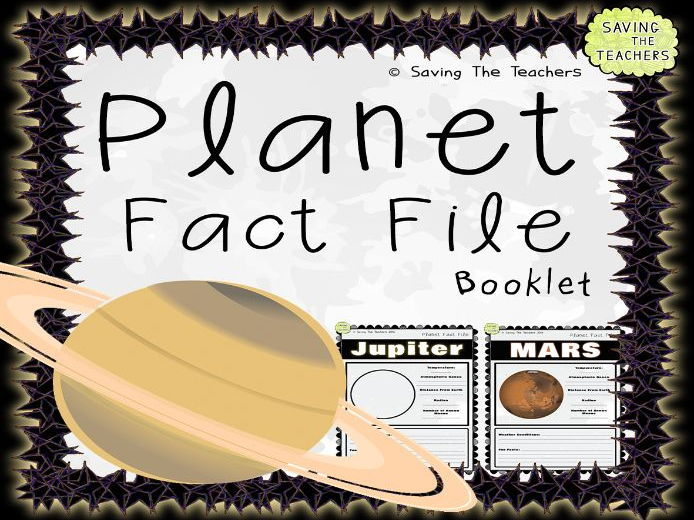 Space: Planet Fact File