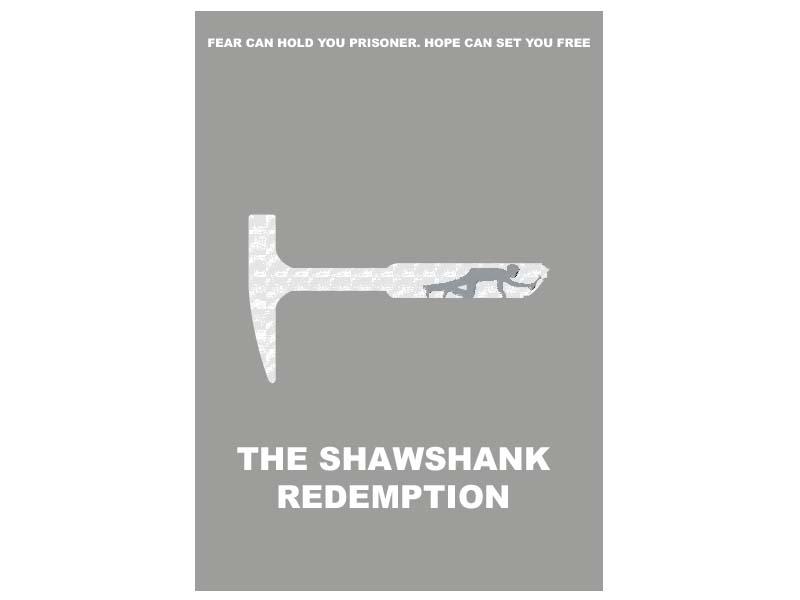 Shawshank Redemption - Illustrated Film Poster