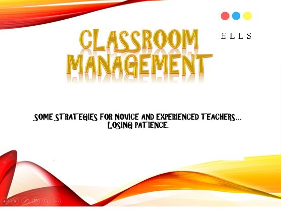 Classroom management: strategies based on how the teacher's brain works